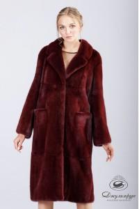Пальто из норки А-186